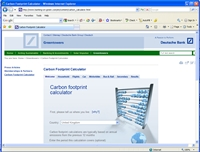 carbonfootprint com - Tools For Your Website